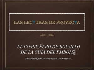 EL COMPAÑERO DE BOLSILLO DEL AGUIA DEL PMBOK@.001