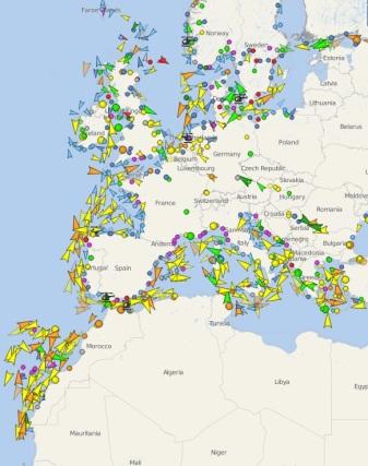 barcos-navegando