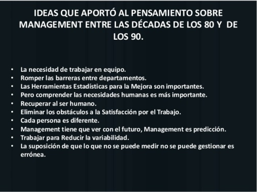 ideas de deming